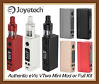 Authentic Joye tech eVic VTwo Mini w/ Cubis Pro Full Kit OR 75W Mod only