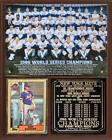 New York Mets 1986 World Series Champions Photo Card Plaque