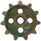 Wide Tooth Gear Wall Decal Rusted Green Garage Removable Decor