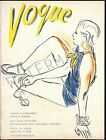 Vogue January 1935 Vintage Artwork Poster Fashion  Cover - 4 sizes available