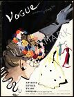 Vogue March 1937 Vintage Artwork Poster Fashion Style Cover - 4 sizes available