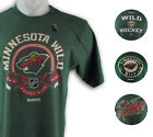 Minnesota Wild NHL Reebok Men's Green T-Shirt (4 Styles) $16.99 USD on eBay