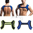 Men Neoprene Harness Gym Sports Shoulder Supports Braces Protective Gear Fitness