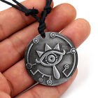 The Legend of Zelda Breath of the Wild Eyes Necklace Keychain Pendant Cllections