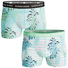 Bjorn Borg 2017 Mens BB Riviera Summer Fitted Soft Stretch Mid Boxer Shorts