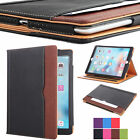 Soft Leather Stand Folio Wallet Smart Cover Case for iPad 9.7 Inch 2017 5th Gen