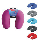 Microbead Contouring Neck Travel Pillow Support Comfort Pain Relief Soft