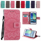 Leather Embossing Flip Wallet Case Stand Cover for Samsung A3 A5 2015 A510 2016