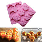 Silicone Pet Cat Paw Ice Cube Chocolate Cake Cookie Soap Mold Mould Baking Tray