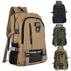 Travel Canvas Backpack Sport Rucksack Camping School Satchel Hiking Bag LFSZ01