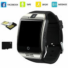 Bluetooth Smart Watch Phone Mate Support TF SIM For Android Smartphone CellPhone