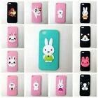 Soft Slicone Phone Case Cover With Cartoon Animals Charm Fit for Iphone 5 /5S/SE