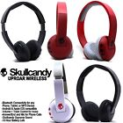 Внешний вид - Skullcandy Uproar Wireless Bluetooth Headphones with Mic Black White Red NEW