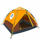 Waterproof Automatic 4-5 People Outdoor Instant Pop up Tent Camping Rainfly Tent