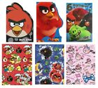 ANGRY BIRDS Birthday Cards - Gift Wrap Pack Tags Party Greetings Ages 5 6 7