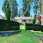 Customize 6'FT Privacy Screen Fence Green Commercial Windscreen Shade Cover1-160