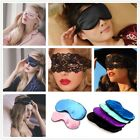 Fox Silk Eye Cover Soft Sleep Mask Women Sexy Aid Blindfold Shade Accessories