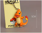 Creative Pokemon Go Pocket Pikachu Silicone Rubber Keychain Key Ring Pendant