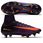 Nike Mercurial Superfly V SG-PRO Mens Purple Football Sock Boots