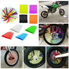 Motocross Dirt Bike Cool Enduro Wheel Rim Spoke Skins Wraps Cover Tool 72Pcs