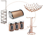 COPPER COLOR KITCHEN & TOILET ACCESSORIES STORAGE ORGANISER MODERN STYLISH NEW