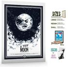 Movie Film Poster Print Sz6 Classic Sci Fi A Trip To The Moon