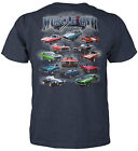 Muscle Car Heaven T-Shirt -Dodge Charger, Mustang GT500, Shelby Cobra 427 Camaro $18.69 USD on eBay