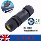 2/3 Pins IP68 Waterproof Connector Electrical Cable Wire Underground Line Sleeve