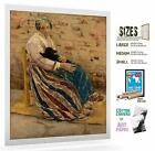 Max Liebermann Print Lady With Cat 094 181