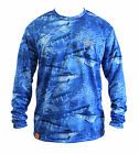 Guy Harvey Mens Legend Camo Performance Shirt