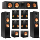 Klipsch 7.2 System with 2 RP-280F Tower Speakers, 1 RP-450C Center Speaker, 4 Kl