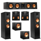 Klipsch 5.2 System with 2 RP-280F Tower Speakers, 1 RP-440C Center Speaker, 2 Kl