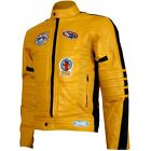 Movie Kill Bill Leather Motorcycle Jacket for Men