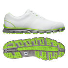 New FootJoy Men's DryJoys Casual 53655 Golf Shoes - White/Lime - Closeout!