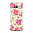 SHABBY CHIC FLORAL FLOWERS MOBILE PHONE CASE COVER FOR SAMSUNG GALAXY S8 PLUS