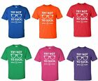 Try Not To Suck Chicago Cubs Maddon Men's T-Shirt new funny cool shirt