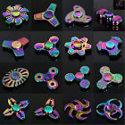Tri-Spinner Figet Spinners Hand Desk Rainbow Ceramic Focus Handmade Toys ADHD