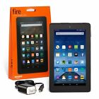 "NEW Amazon Kindle Fire 7"" 5th Gen 8GB IPS Both Front & Rear Cameras Latest Model"