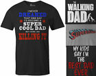 9 Crowns Mens Funny Best Dad Super Cool Fathers Day T Shirts