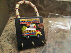 Hand Made Colombia 3 Hook Rack Holder  NEW