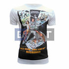 James Bond Moonraker Poster Inspired Men's Fitted T-shirt MEDIUM SAMPLE