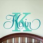 Sticker Decor Boys Bedroom Personalized Name Nursery Vinyl Decal Wall Art Baby