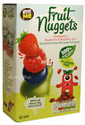 Real Fruit Snacks Goodness Me Fruit Nuggets 48 Packs Straw Rasb B/Berry Floridas