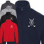DC82 Mens Zipped Sweatshirt Jacket Top For Golf and Leisure With or Without Logo
