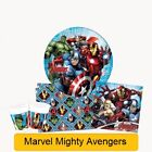 Marvel MIGHTY AVENGERS Birthday Party Range - Tableware & Decorations Supplies