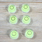 10pcs Dia Disc Bubble Round Circular Circle Spirit Level Green For Tripod s235