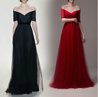 Women Party Wedding Bridesmaid Prom Graduation Ball Long Dress Formal Dresses &8