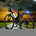 "25"" 18"" Folding Electric Mountain Bike Bicycle Multi-Speed Ebike +Lithium 250W"