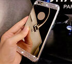 Luxury Bling TPU Soft Mirror Back Accessories Phone Case For Samsung S8/ Plus