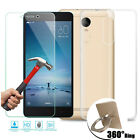 Tempered Glass + TPU Soft Protective Case + Finger Ring Cover For Xiaomi Skin